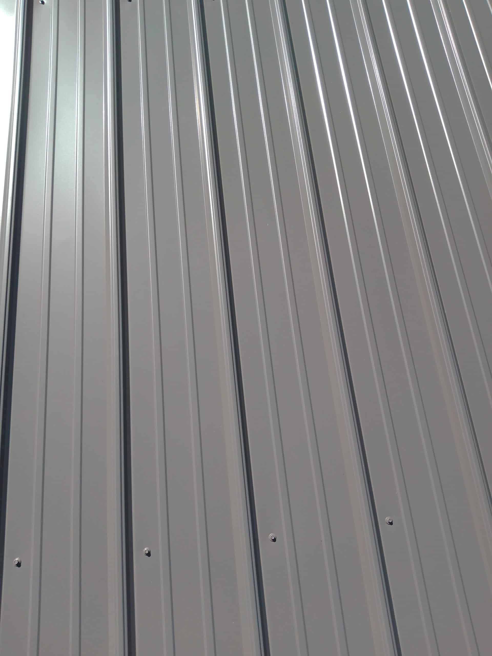 Metal Roof Overhang