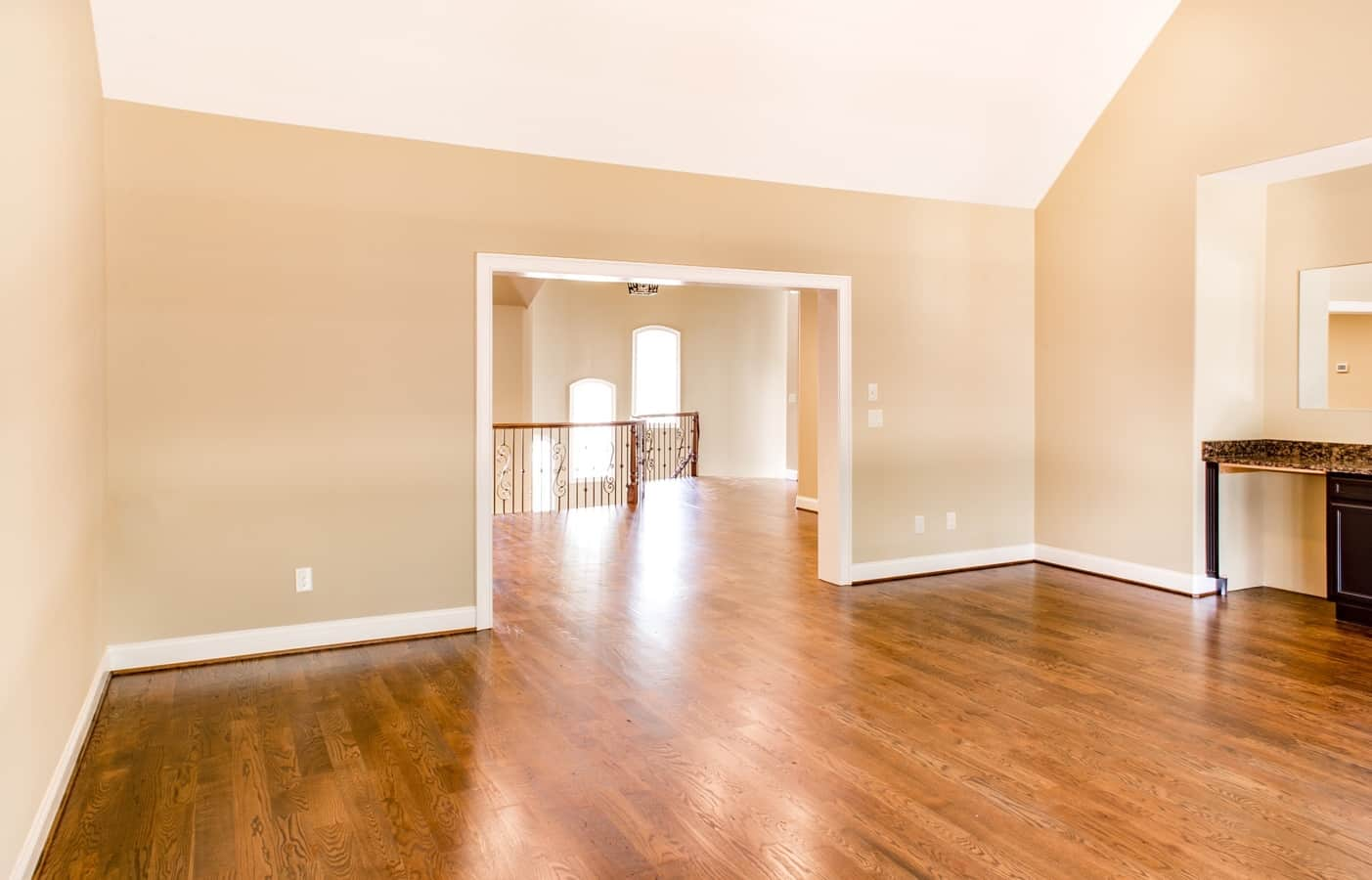 The total cost to redo a trim is affected by the size of your rooms